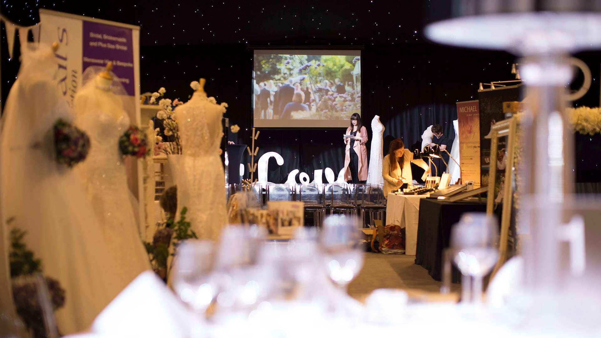 The Milsom Wedding Show is a great success