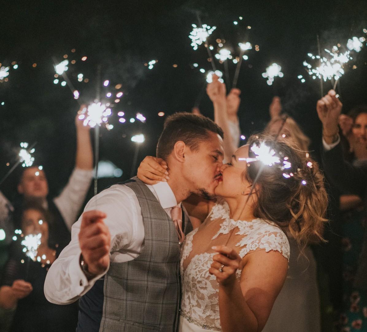 A toast to the era of small stylish weddings