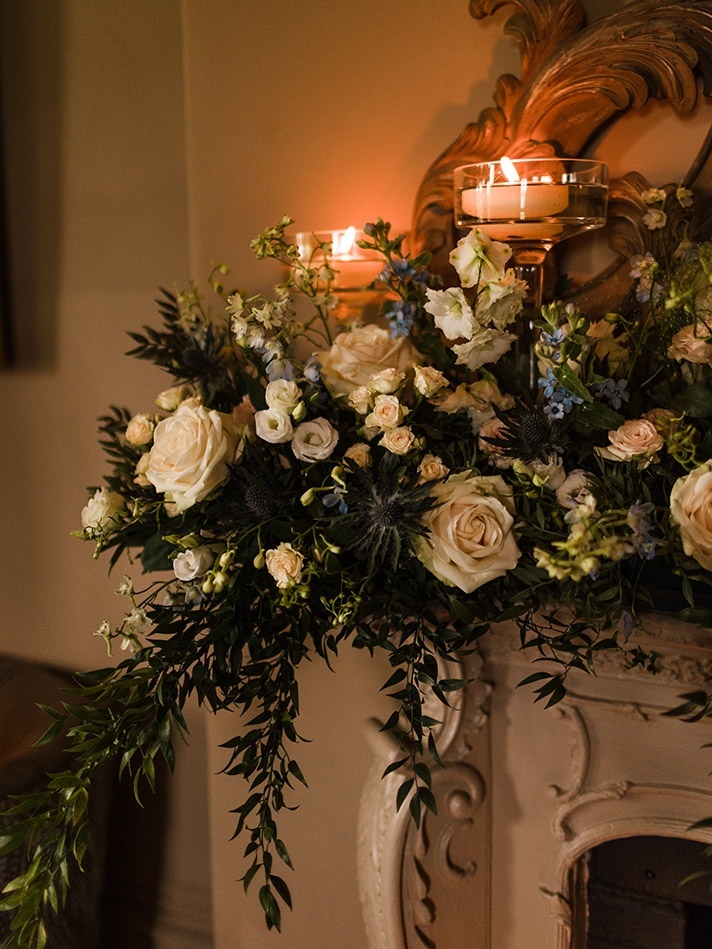 Our wedding day at Maison Talbooth was so magical!