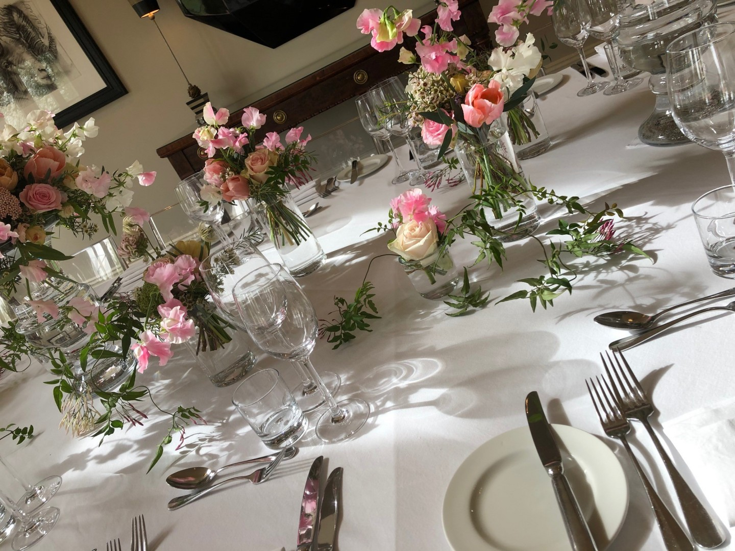Thank you to everyone at Maison Talbooth for making our day run so smoothly!